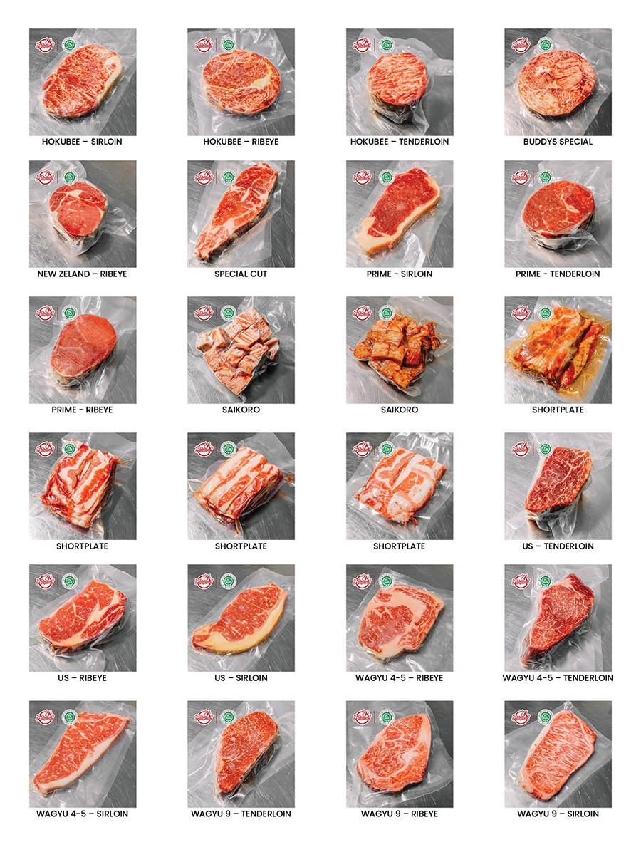 HC meatshop list